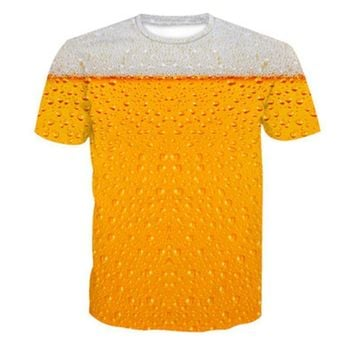 Beer - Drinking T-shirt - All Over Print
