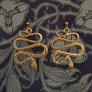 The Serpentina Earrings