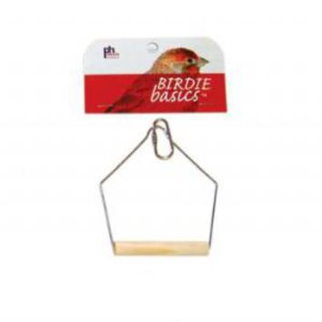 Prevue Wooden Bird Swing 3 x 4 inch