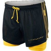 Nike LIVESTRONG Women's Double Up Shorts