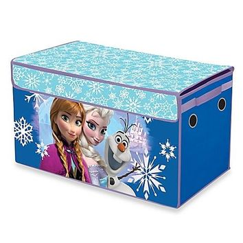 Disney Frozen Snowflake Collapsible Storage Trunk 16 x 14 x 30""