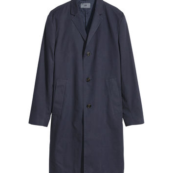 H&M - Car Coat - Dark blue - Men