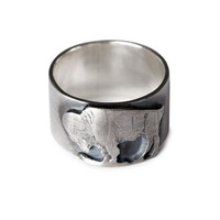 Buffalo Nickel Sterling Silver RIng
