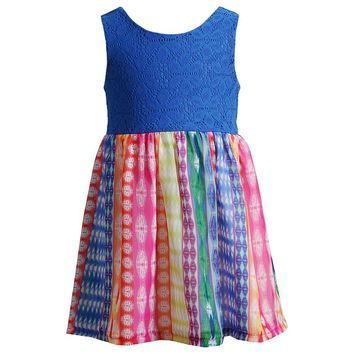 Youngland Crochet High-Low Dress - Toddler Girl, Size: