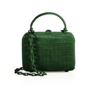 Nancy Gonzalez Crocodile Box Top-Handle Bag