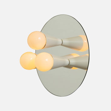 Echo 3 Sconce - White