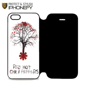 Tree Of Red Hot Chili Peppers iPhone 5|5S Flip Case|iPhonefy