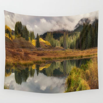 Transition by OLena Art Wall Tapestry by Lena Owens/OLenaArt