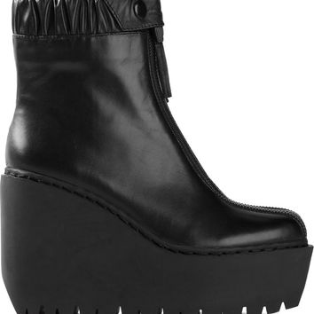 Opening Ceremony 'Luna' double zip boots