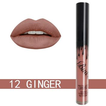 Matte Do Not Stick The Cup Lip Gloss Liquid Lipstick Hot And Durable Waterproof
