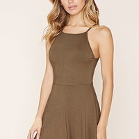 Ribbed Cami Mini Dress