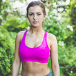 All About It Sport Bra in Magenta