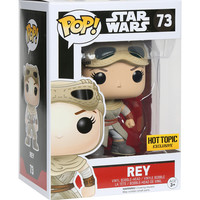 Funko Star Wars: The Force Awakens Pop! Rey Vinyl Bobble-Head Hot Topic Exclusive