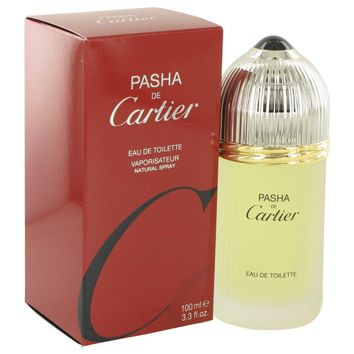 Pasha De Cartier By Cartier Eau De Toilette Spray 3.3 Oz