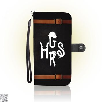 Hogwarts Houses Initials, Harry Potter Wallet Case