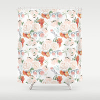 poppies Shower Curtain by sylviacookphotography
