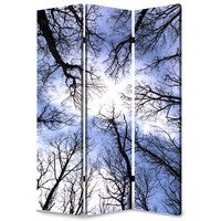 "Screen Gems Forest Screen 72"" Room Divider"