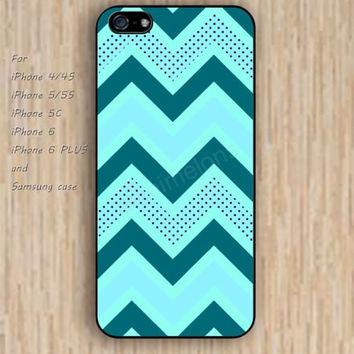 iPhone 5s 6 case lighting blue chevron colorful dream phone case iphone case,ipod case,samsung galaxy case available plastic rubber case waterproof B754
