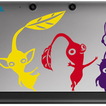 Pikmin Decals for 3ds and 3ds Xl Choose from 4 styles