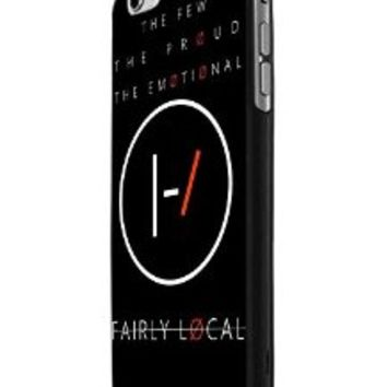 Twenty One Pilots Fairly Local iPhone 6 Case Hardplastic Frame Black Fit For iPhone 6