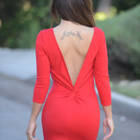 Holly Dress - Red
