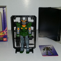Ban Dai Vintage Japanese Robot Figure New In Box with Trading Card Hard to Find model