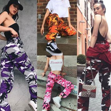Casual Pants Military Army