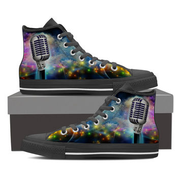 Singers Microphone Shoes