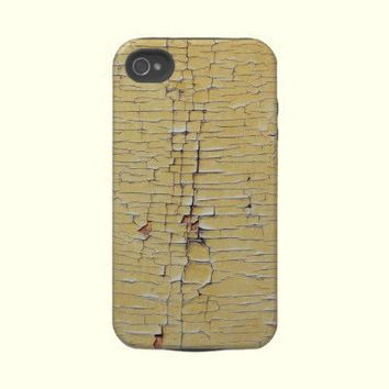Cracked Grunge Texture Tough Iphone 4 Cases from Zazzle.com