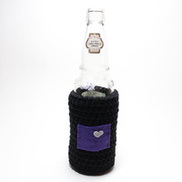 Colorado Beer Koozie, Crochet Bottle Cozy, State Accessories, Can Koozie, Colorado Rockies Inspired Coffee Cozy, Travel Drink Holder