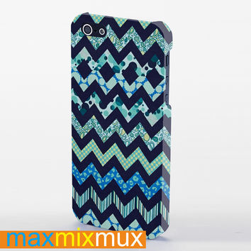 Chevron Astec iPhone 4/4S, 5/5S, 5C Series Full Wrap Case