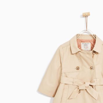 STAR LINED TRENCH COAT