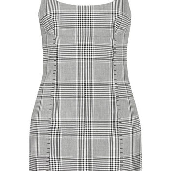 Alexander Wang - Checked woven mini dress