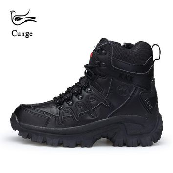 Army Fan Outdoor Camouflage Non-slip Tactical Boots Men's Combat Boots Commando Army Boots Men Desert Safty Shoes