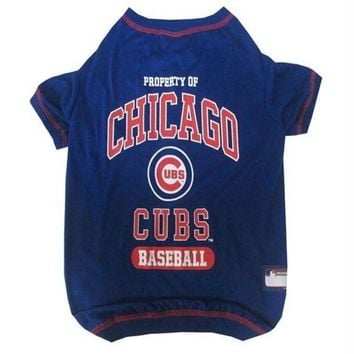 ONETOW Chicago Cubs Pet T-Shirt