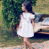 Nellystella Alexis Dress in White - PRE-ORDER
