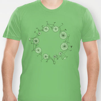 Cycle T-shirt by Anita Ivancenko | Society6