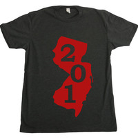 New Jersey Area Code T-Shirt