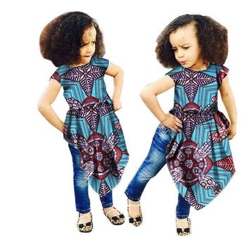 Robe Africaine African Traditional Dresses Dashiki Special Offer Cotton Girls
