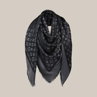 Monogram Shine Shawl - Louis Vuitton  - LOUISVUITTON.COM