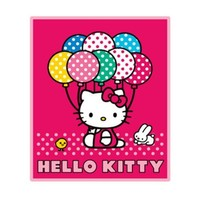 Hello Kitty Blanket - Hello Kitty Sanrio Throw (50 x 60 in) Baloon