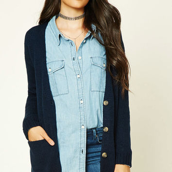 Contemporary V-Neck Cardigan