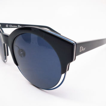 Dior Sideral 1 RLTKU Black Blue Sunglasses