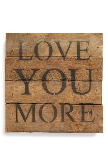 Second Nature by Hand \'Love You More\' from Nordstrom