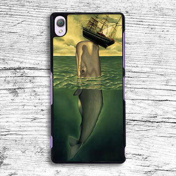 whale and boat Sony Xperia Case, iPhone 4s 5s 5c 6s Plus Cases, iPod Touch 4 5 6 case, samsung case, HTC case, LG case, Nexus case, iPad cases