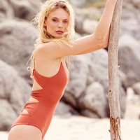 Free People Messier One-Piece Swim Suit