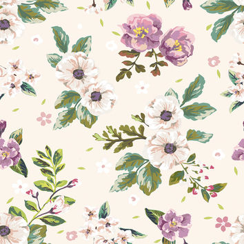 Floral Scent Removable Wallpaper