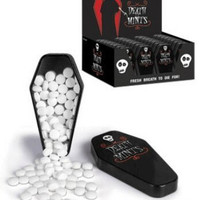 Halloween Death Mints Horror Zombie Goth Coffin Vampire
