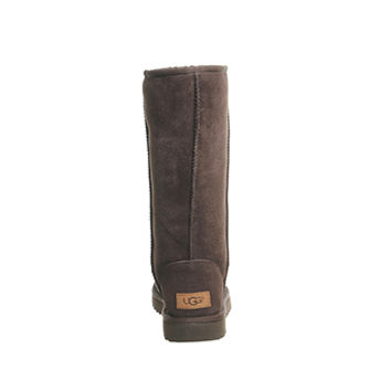 UGG Classic Tall II Chocolate Suede - Knee Boots