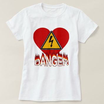 Danger Heart T-Shirt